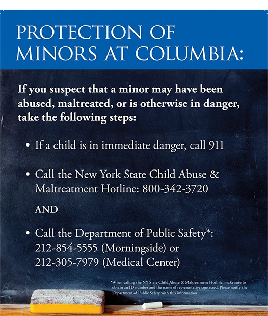 flyer image for minors